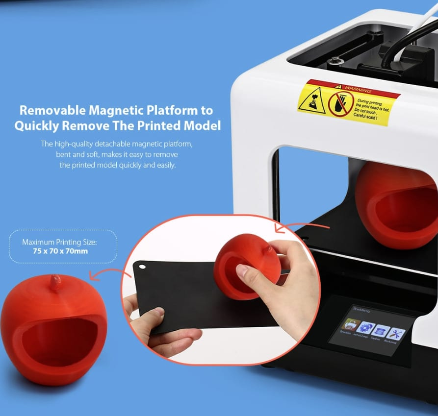 2020 08 05 09 54 45 FULCRUM MINIBOT 1.0 White EU Plug 3D Printers 3D Printer Kits Sale Price  Rev