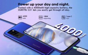 2020 08 26 09 32 38 OUKITEL C21 Helio P60 Quad Kamera 20MP Selfie 6.4 FHD  Locher Bildschirm 4000