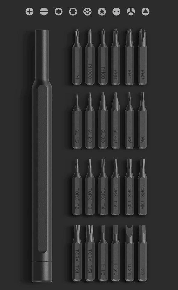 Xiaomi Mijia Wiha Feinmechaniker Set Aufsätze