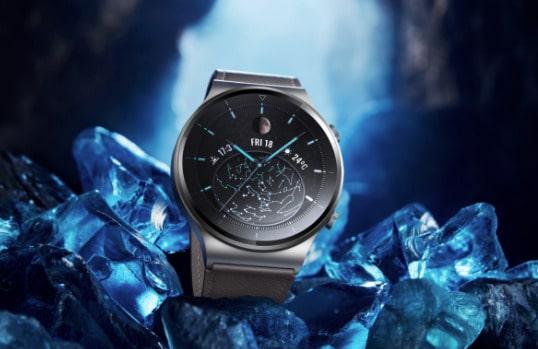 2020 09 14 14 35 44 Huawei Watch GT 2 Pro  Smartwatch mit Qi Laden  2 Wochen Laufzeit