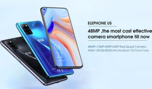 2020 09 16 10 54 38 ELEPHONE U5 Black Cell phones Sale Price  Reviews   Gearbest