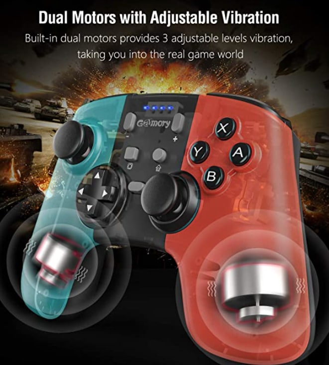 2020 09 28 13 34 11 Gamory Controller fuer Nintendo Switch Bluetooth Wireless Controller fuer Nintend