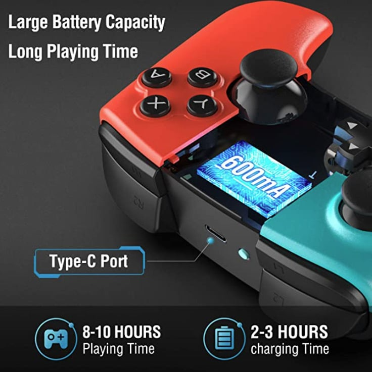 2020 09 28 13 34 18 Gamory Controller fuer Nintendo Switch Bluetooth Wireless Controller fuer Nintend