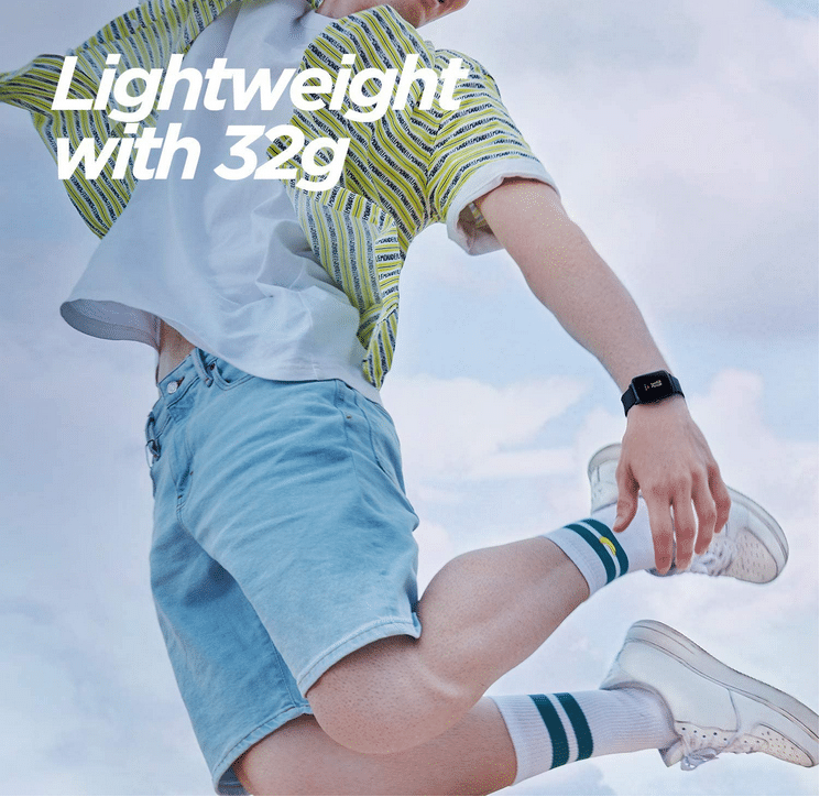 2021 07 05 09 58 19 Amazfit Smartwatch Bip Lite Sportuhr Fitness Armbanduhr 5 ATM wasserdicht Stoppu