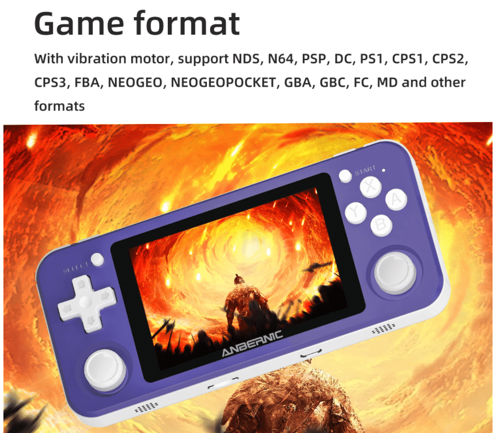 2020 10 12 11 30 19 Anbernic rg351p 64gb 2500 games ips hd handheld game console support psp ps1 n64