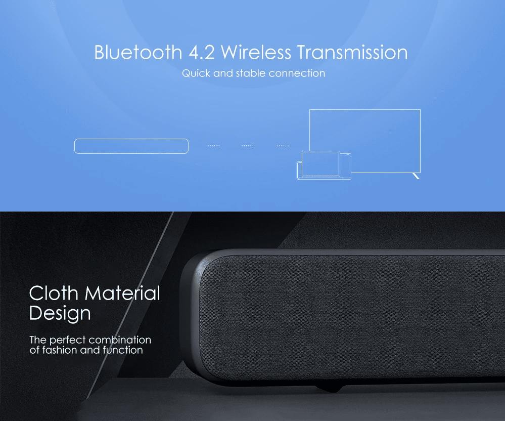 Xiaomi TV Soundbar Material und Bluetooth verbindung
