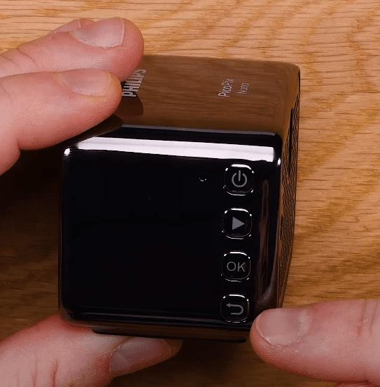 Philips PicoPix Nano / Micro / Max Bedienelemente