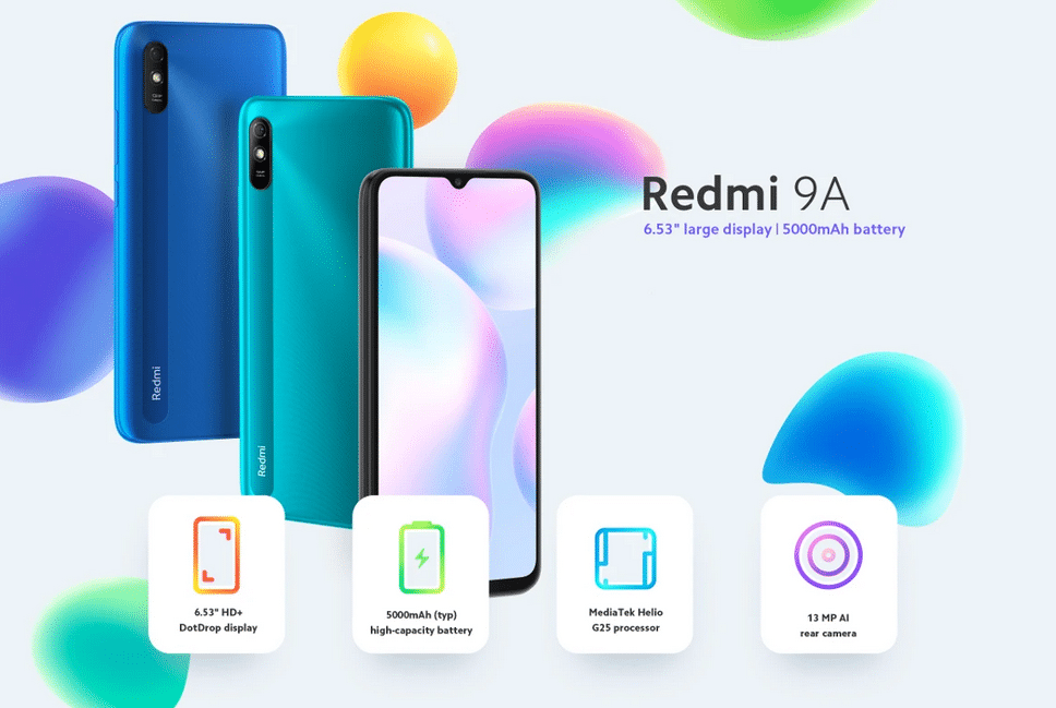 2020 12 07 00 38 54 Xiaomi redmi 9a global version 6.53 inch 2gb ram 32gb rom 5000mah mtk helio g25
