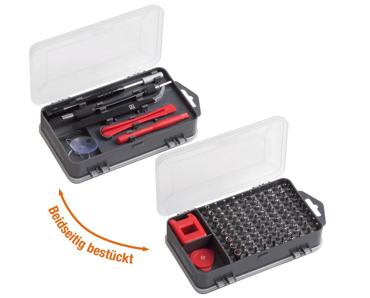 2021 05 05 16 10 53 Meister Feinmechaniker Set 108 teilig   Reparatur Set fuer Smartphones Tablets