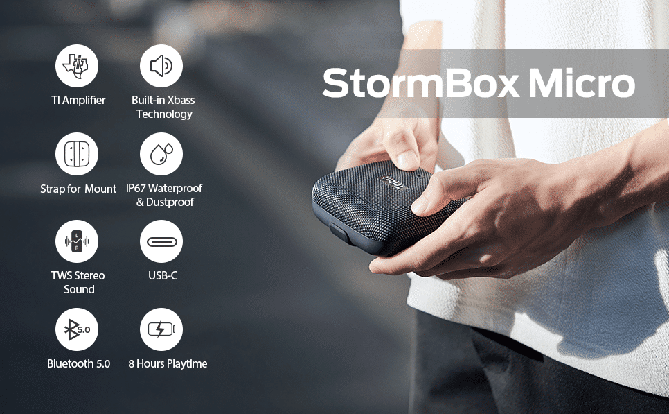 2020 12 07 00 25 28 Bluetooth Lautsprecher Tribit StormBox Micro Wireless  Amazon.de  Elektronik