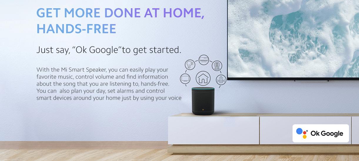 Xiaomi Mi Smart Speaker mit Google Assistent