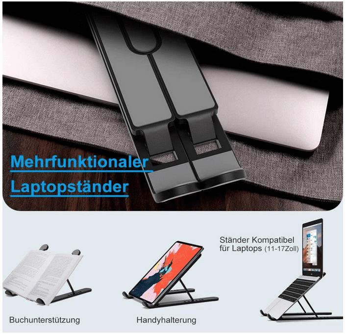 2020 12 11 18 39 18 LUXSURE Laptopstaender hoehenverstellbar Laptophalterung  Amazon.de  Computer  Zu