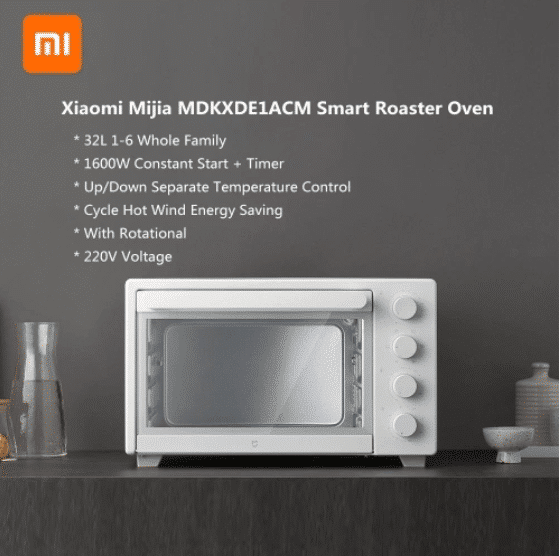 2021 01 08 13 40 00 Xiaomi Mijia MDKXDE1ACM Smart Roaster Ofen