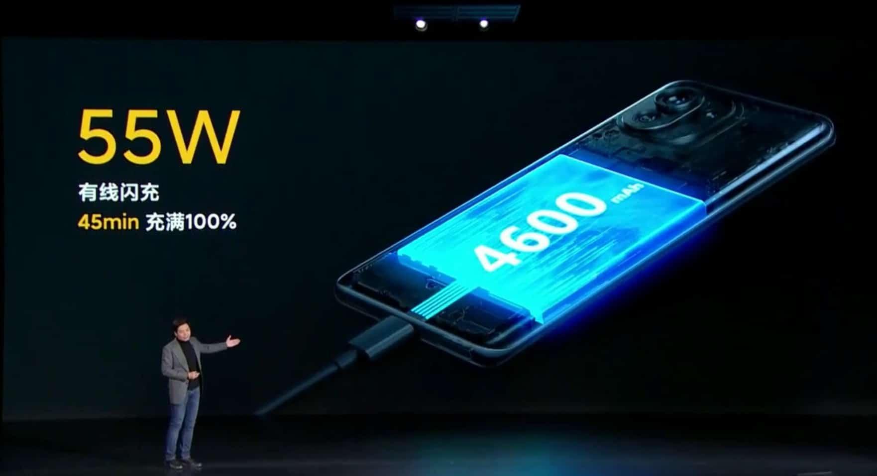 Xiaomi Mi 11 Smartphone Akku