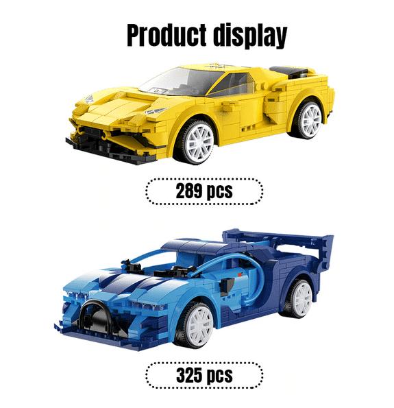 2021 02 04 16 59 38 Cada Stadt APP Programmierung fernbedienung Sport Auto Modell Bausteine Technic