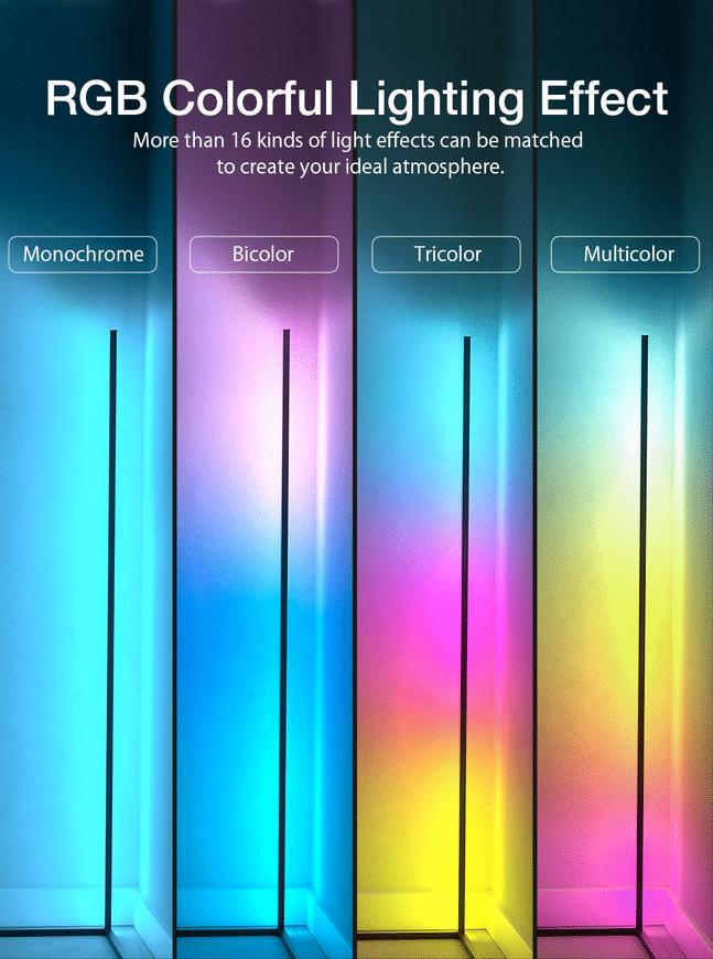 BlitzWolf BW-FLT 1 LED RGB Farben