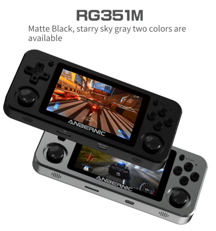 2021 02 08 13 19 45 Anbernic rg351m 64gb 3000 games handheld video game console for psp ps1 nds n64