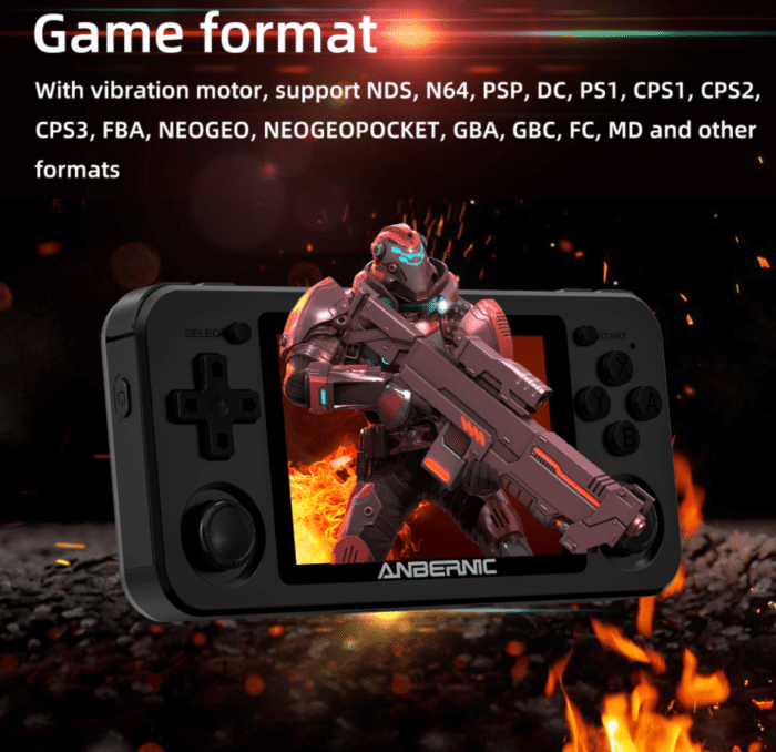 2021 02 08 13 20 14 Anbernic rg351m 64gb 3000 games handheld video game console for psp ps1 nds n64