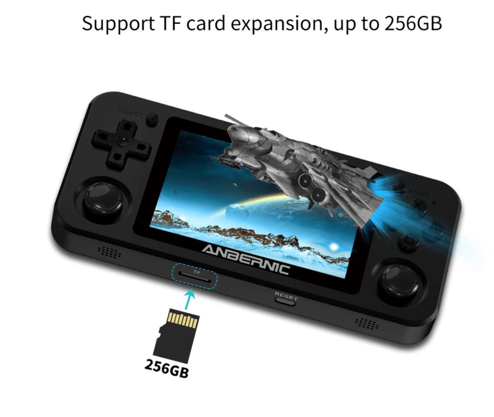 Anbernic RG351M SD Kartenslot bis 256 GB