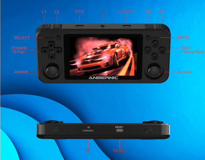 2021 02 08 13 20 30 Anbernic rg351m 64gb 3000 games handheld video game console for psp ps1 nds n64