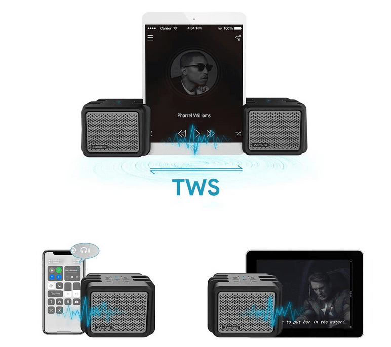 2021 02 08 21 17 35 Zamkol Bluetooth Lautsprecher25W Tragbarer  Amazon.de  Elektronik