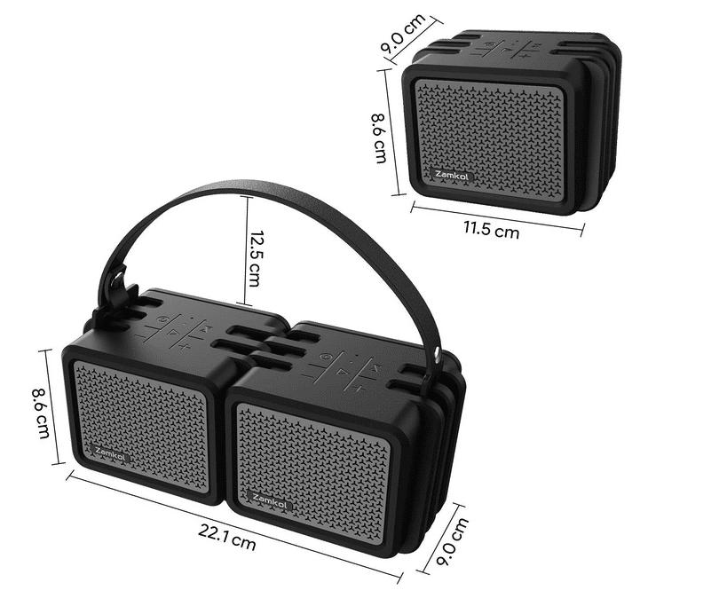 2021 02 08 21 18 27 Zamkol Bluetooth Lautsprecher25W Tragbarer  Amazon.de  Elektronik
