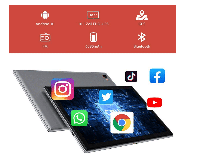 2021 02 09 18 11 08 Blackview Tab8 Tablet 2554cm Android 10 Tablet PC  Amazon.de  Computer  Zubehoe