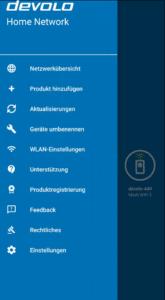 Devolo Mesh WLAN 2 App