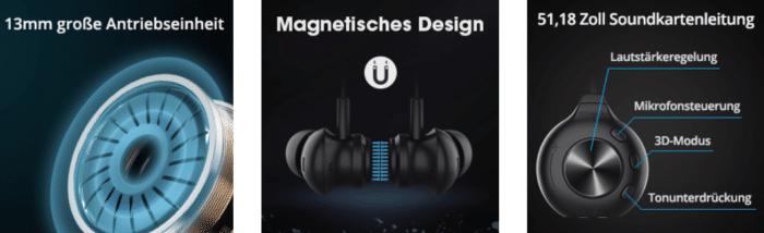 2021 02 11 13 48 04 Kopfhoerer in Ear mit Mikrofon Bluedio Li Pro  Amazon.de  Elektronik
