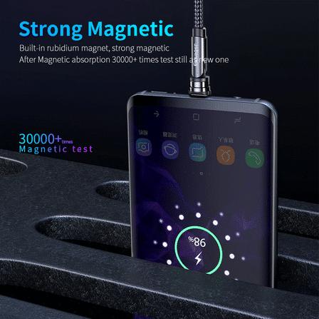 2021 02 16 17 12 32 Essager Drehen Magnetischer Kabel 360 Grad USB Typ C Ladekabel Schnelle Lade Mag