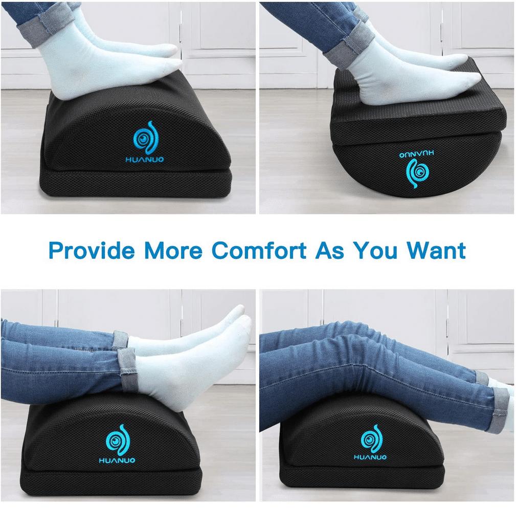 Verstellbare Fußstütze Optionen