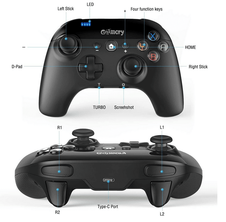 2021 02 18 17 22 46 Gamory Controller Fuer SwitchWireless Bluetooth Controller Gamepad fuer Switch mi