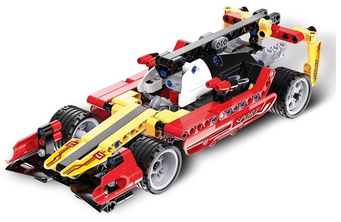 2021 02 25 07 18 26 3in1 Supersport Rennwagen Set 295 Teile kompatibel mit Lego Technic z.B. 42026