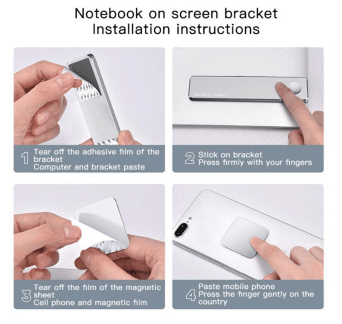 2021 02 25 10 24 51 Oatsbasf 2 in 1 dual monitor display magnetic aluminum alloy macbook stretching