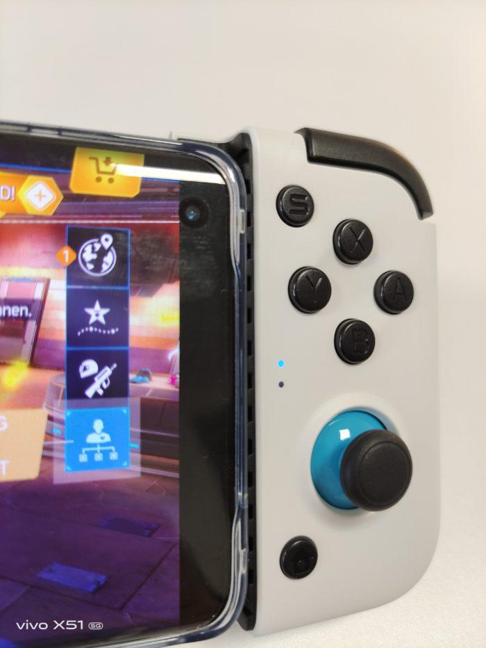 Gamesir X2 Buttons + zweiter Analogstick
