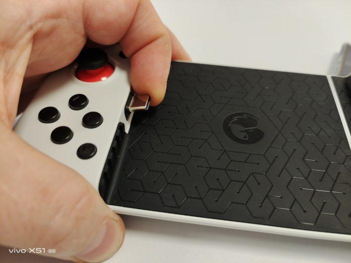 Gamesir X2 beweglicher USB-C Port