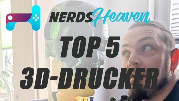 top 5 3d drucker