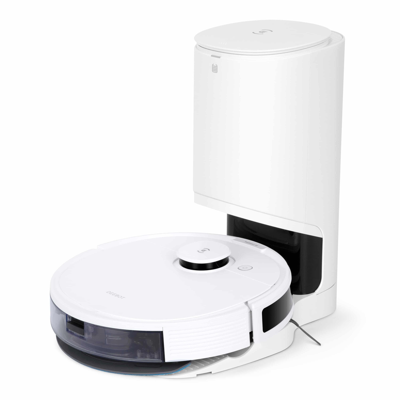 Ecovacs Deebot N8 Pro+ Seitliche Ansicht mit Absaugstation
