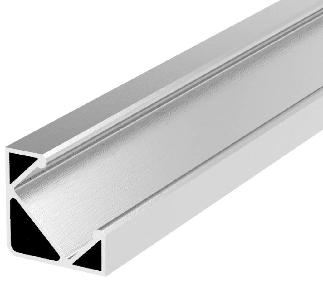 Aluminium Eckprofile Detailansischt