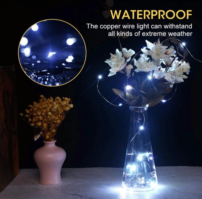 2021 03 15 12 56 11 LED Kork Flaschenlichter Wasserdicht Kupferdraht Lichterkette fuer Flaschen USB