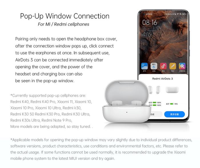2021 03 17 09 29 07 Xiaomi Redmi AirDots 3 TWS Drahtloser Bluetooth 5.2 Kopfhoerer Hybrid Vocalismus