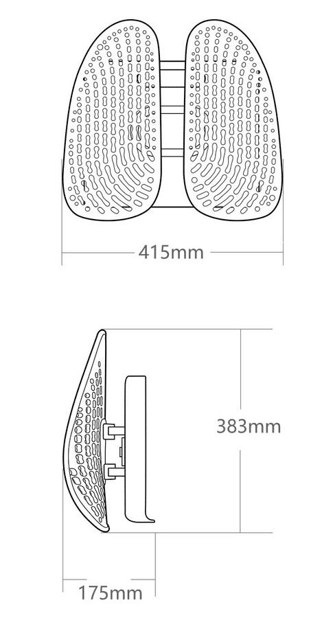 2021 03 17 11 02 01 LERAVAN Leband Neue Ergonomische Verstellbare Rueckenlehne Taille Korrektur Haltu