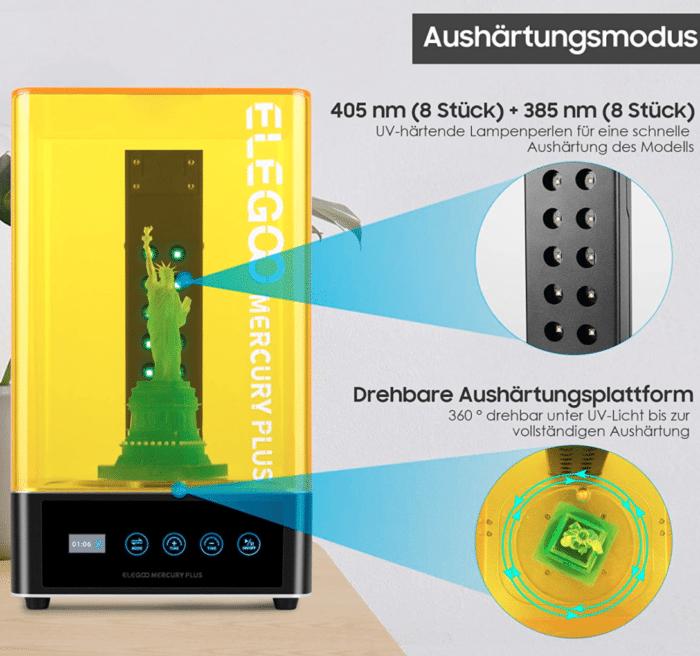 2021 03 19 11 13 11 ELEGOO Mercury Plus 2 in 1 Waschen und Aushaerten Maschine fuer LCD DLP SLA 3D Ged