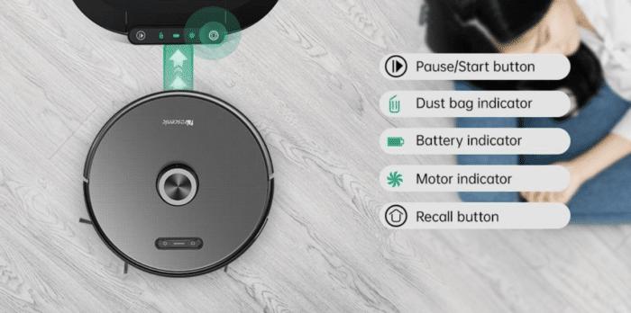 2021 03 23 02 20 50 Proscenic M8 Pro Smart Roboter Staubsauger  Staubsammler Schwarz