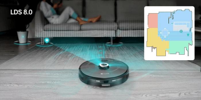 2021 03 23 02 21 07 Proscenic M8 Pro Smart Roboter Staubsauger  Staubsammler Schwarz
