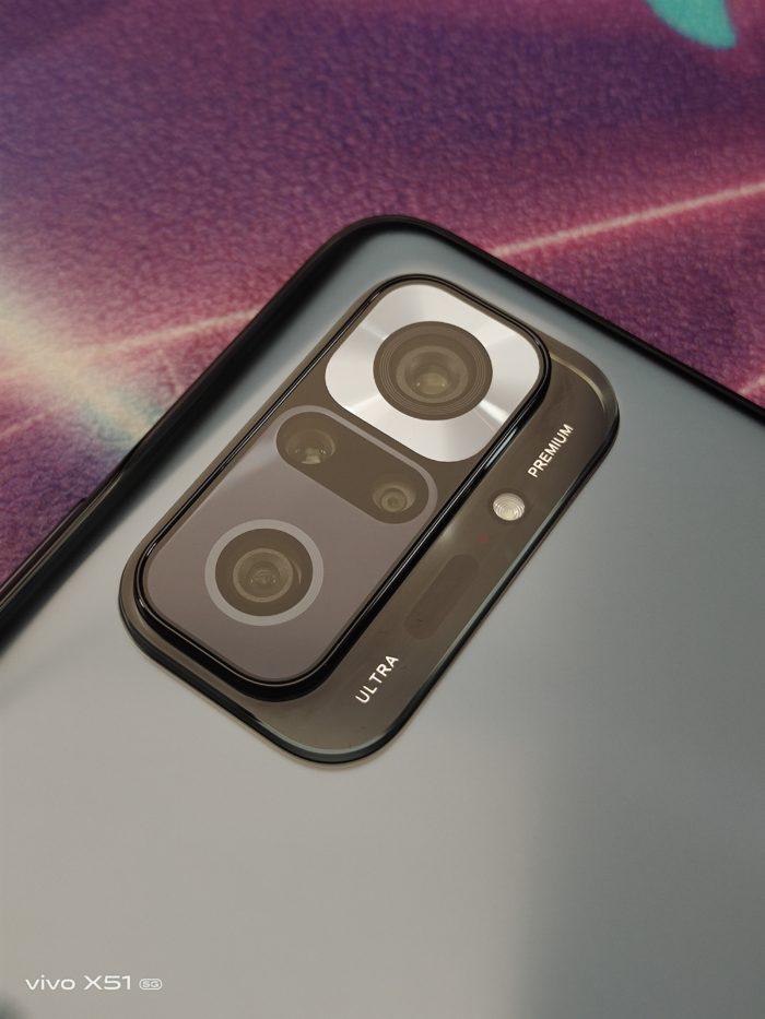 Xiaomi Redmi Note 10 Pro Rückseite Kamerasetup