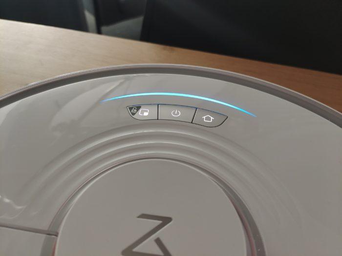 Roborock S7 Bedienelemente Oberseite & Optik