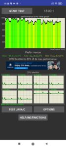 Xiaomi Redmi Note 10 Pro Screenshoots der Performance Benchmarks