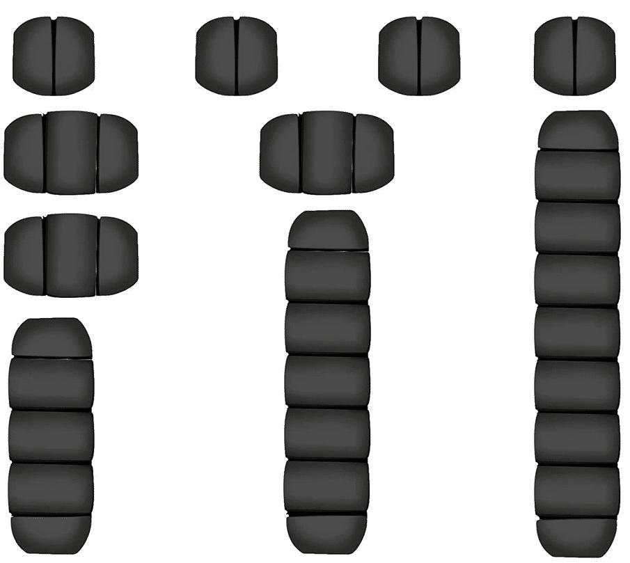 Kabelhalter-Set Produktbild