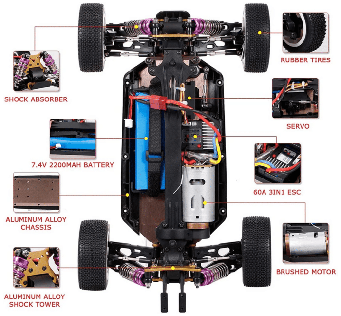 2021 04 29 11 38 26 Wltoys 124019 several 2200mah battery rtr 1 12 2.4g 4wd 60km h metal chassis rc